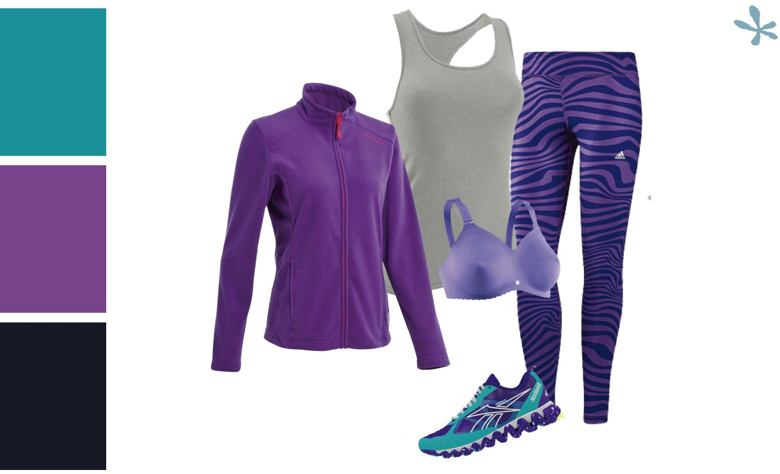 looks para hacer deporte